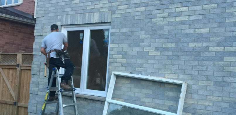 Side Window Installation