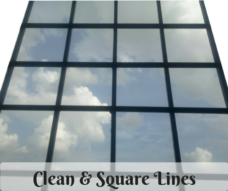 Clean & Square Lines